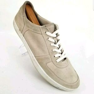 COLE HAAN LEATHER SUEDE CAUSUAL LACE UP SNEAKERS